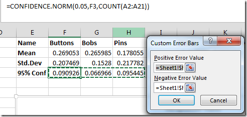 how to add intervals in excel 2013